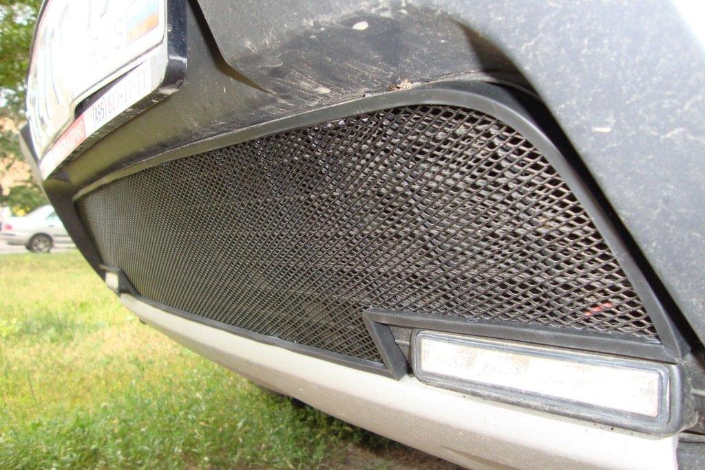 Защитная сетка на решетку радиатора на дастер