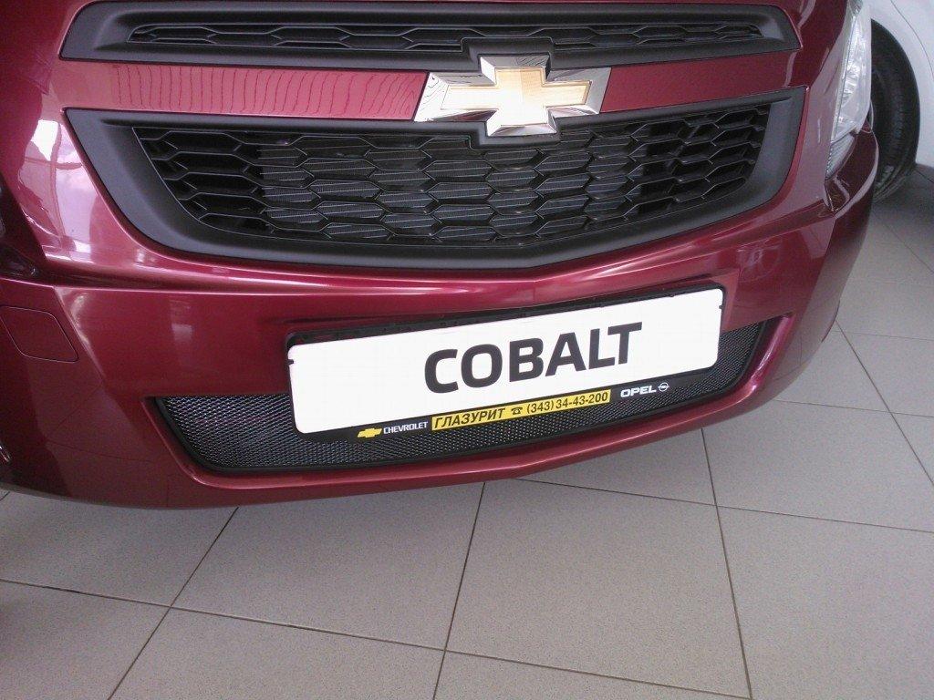 """Защитная сетка радиатора Chevrolet Cobalt 2013 """" Каталог Интернет-магазин автоаксессуаров Naperedok.com"""